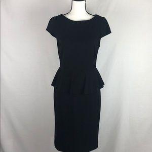 BOSTON PROPER Black dress size 10